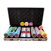 Профессиональный набор для покера 300 шт. с номинала *25*