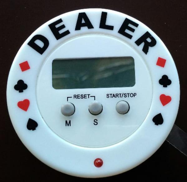 Покерный таймер «Dealer»