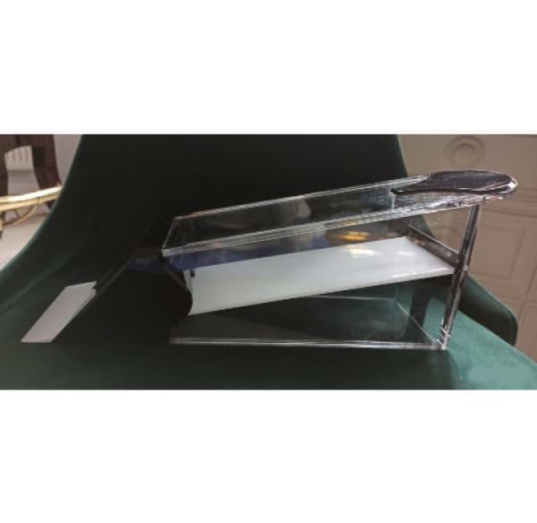 Прозрачный  акриловый  шуз на 8 колод для Блэкджека и  Баккары