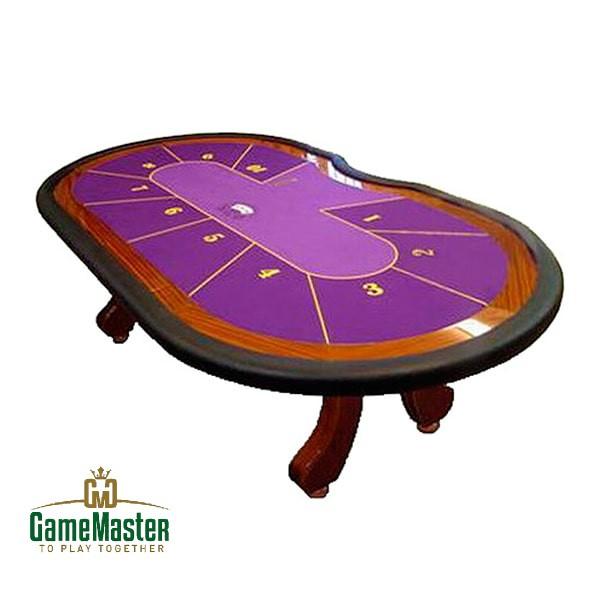Стол для спортивного покера «Де - Люкс» на 7,9,10 игроков