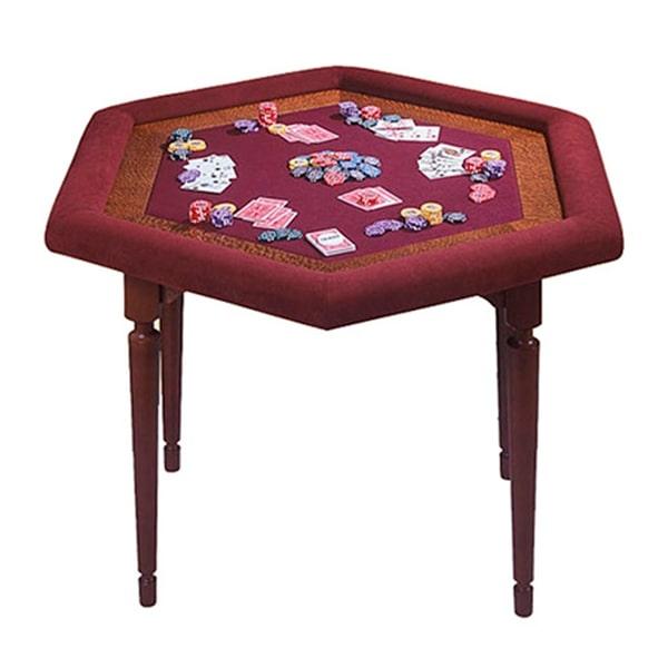 Ломберний стіл 6-ти гранний (080-10)