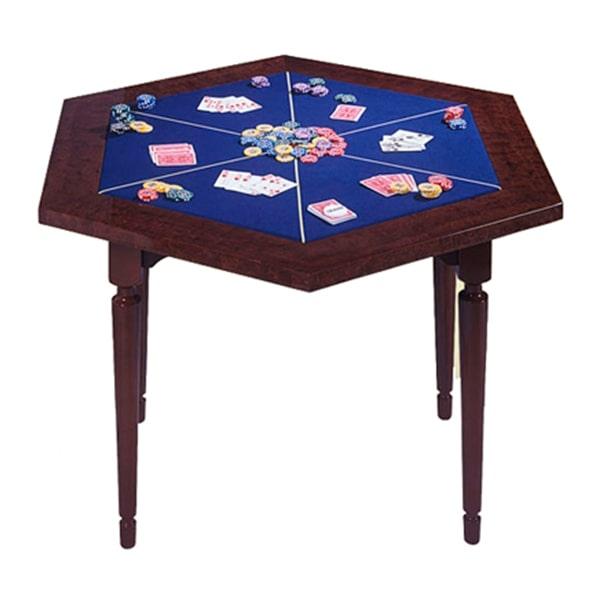 Ломберний стіл 6-ти гранний (080-20)
