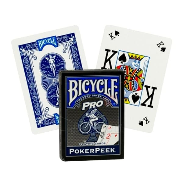 Карты Bicycle Pro PokerPeek