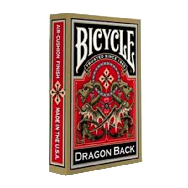 Карты Bicycle Gold Dragon Back