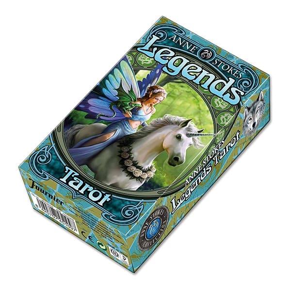 """Карты Fournier """"Anne Stokes Legends Tarot"""""""