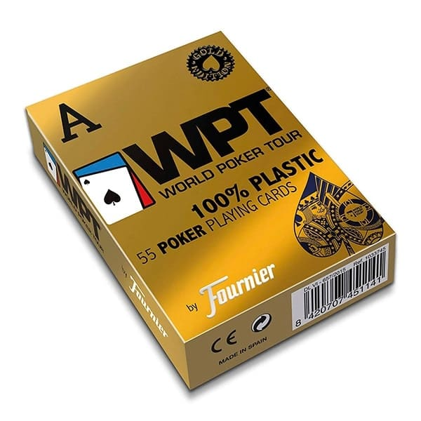 "Пластикові карти Fournier ""World Poker Tour"" (WPT) GOLD"