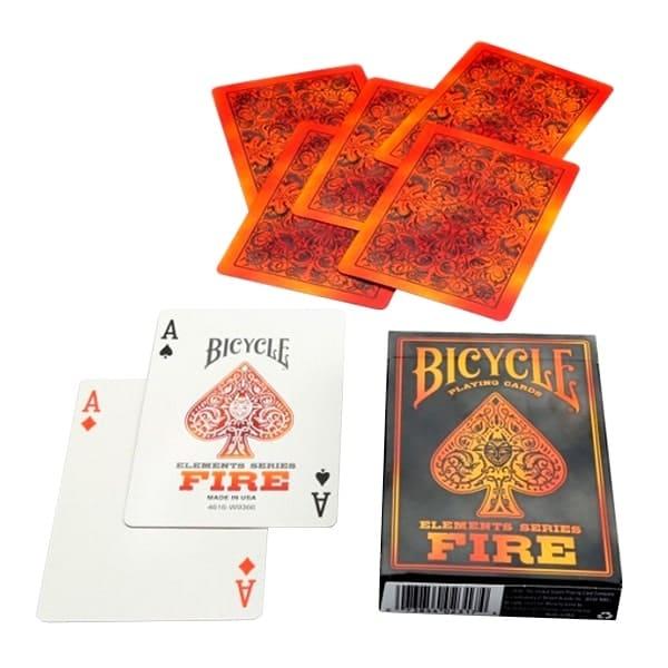 Карты Bicycle Fire (пламя)