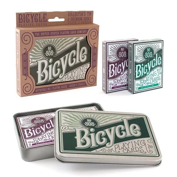 Карти Bicycle Retro 808 Collectors Tin