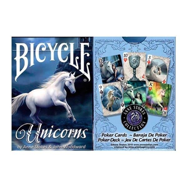 Карти Bicycle Anne Stokes Unicorns