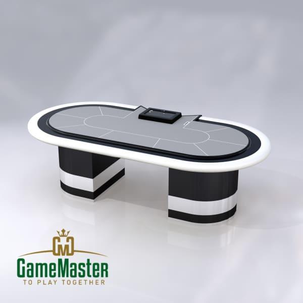 """Стіл для спортивного покеру класу """"Люкс"""" gray"""