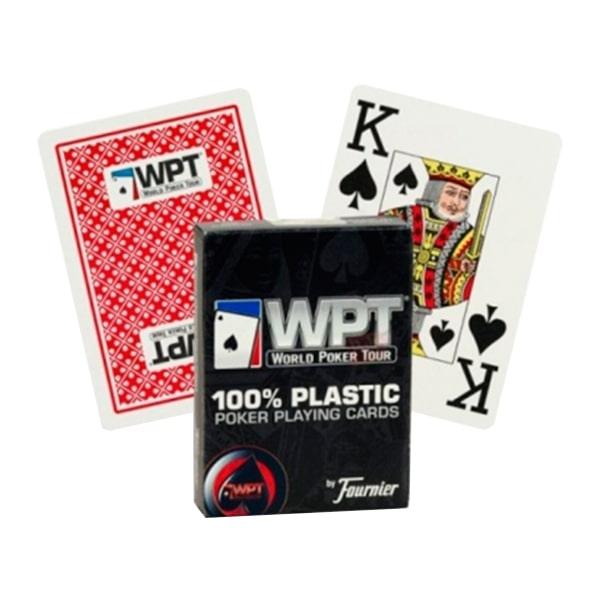 """Пластикові карти Fournier """"World Poker Tour"""""""