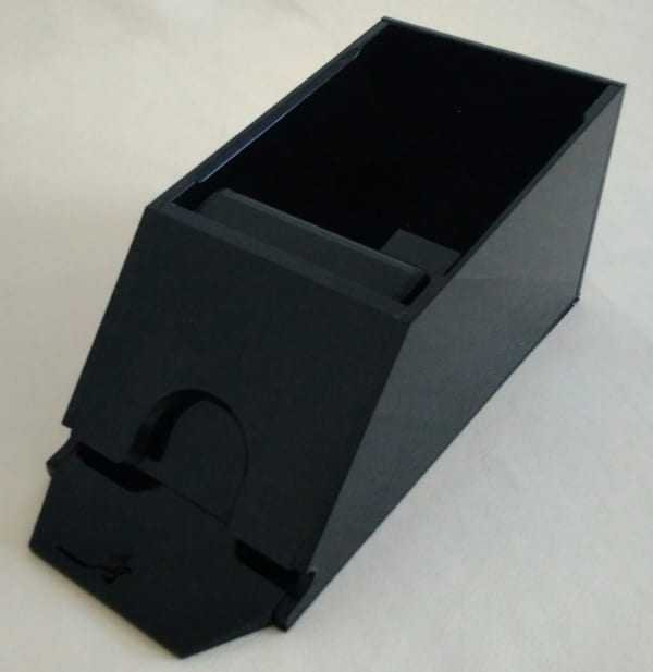 Черный акриловый шуз на 1 колоду
