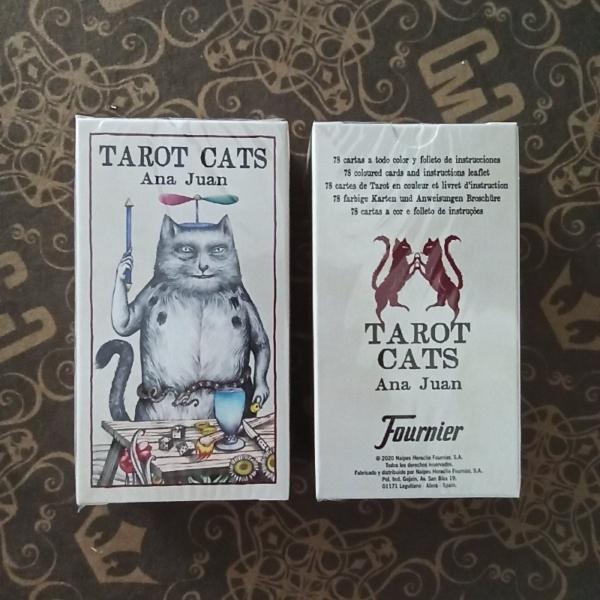 Карты Tarot Cats by Ana Juan