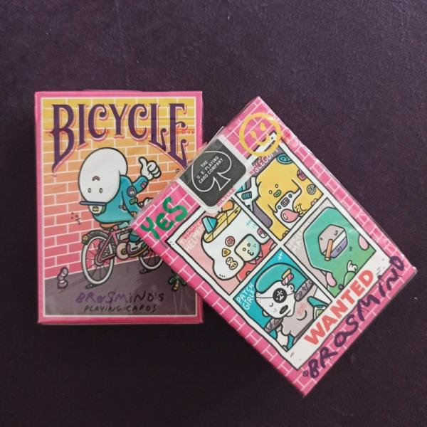 Покерные карты Bicycle Brosmind's Four Gangs