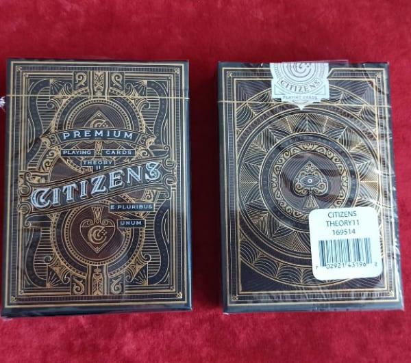 Игральные карты Citizens