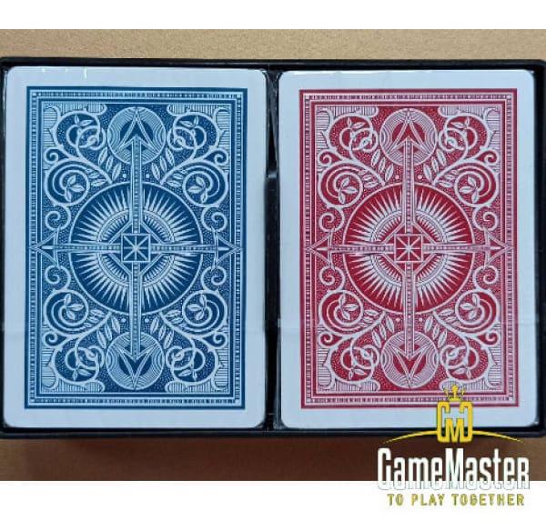 Игральные карты Kem Arrow Red/Blue Wide Jumbo index
