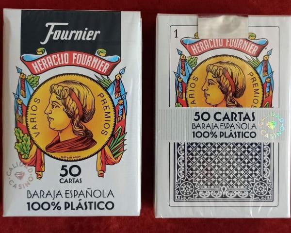 Пластикові карти Fournier 100%