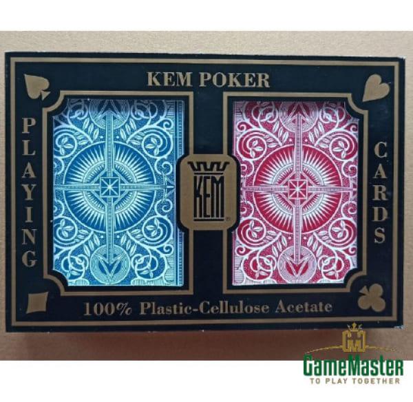 Пластиковые карты Kem Arrow Red/Blue Wide Standard Index