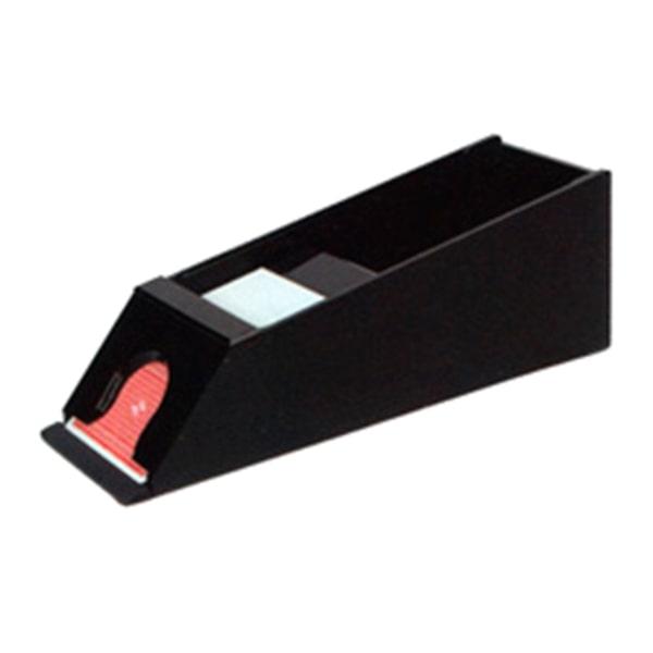 Чорний акриловий шуз для Блекджека на 6 колод