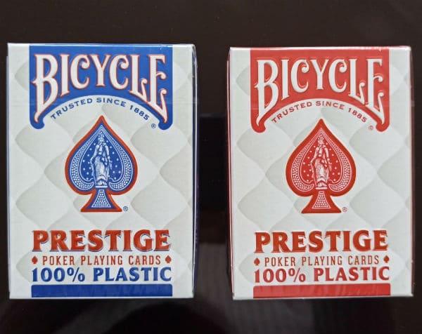 Пластикові карти Bicycle Prestige