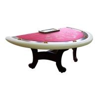 Стіл для гри в покер з накладкою (004-0)