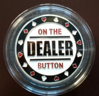 Хранитель карт «On the Dealer Button»