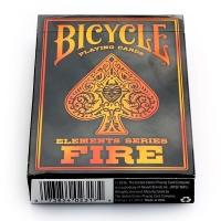 Карти Bicycle Fire (пламя)