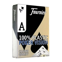 Пластиковые карты Fournier Poker Vision