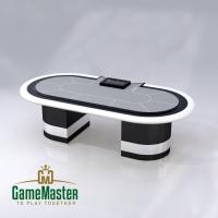 """Стол для спортивного покера класса """"Люкс"""" gray"""
