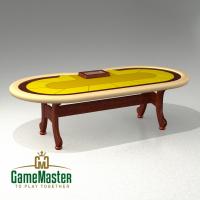 Стол для спортивного покера mustard