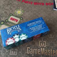 Покерный набор фишки Bicycle 100 шт.