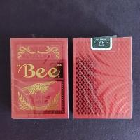 Игральные карты Bee Metalluxe Red