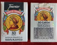 Пластиковые карты Fournier 100%
