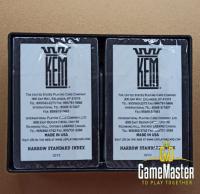 Пластиковые карты Kem Arrow Golden/Gray Narrow Standard index