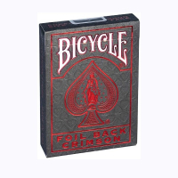 Карты Bicycle Metalluxe Red Playing Cards