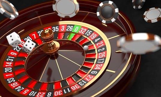 Koło ruletki - zagraj w amerykańską lub europejską ruletkę na pieniądze.